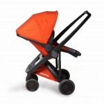 Wózek spacerowy Greentom Reversible Black-Orange