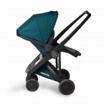 Wózek spacerowy Greentom Reversible Black-Teal
