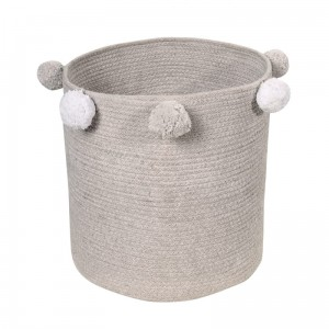 Baby Basket Bubbly Grey