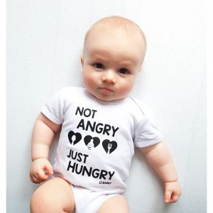 Not Angry - Just Hungry - Body niemowlęce