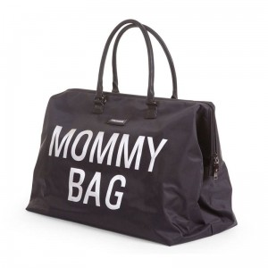 Torba podróżna Mommy Bag czarna, Childhome