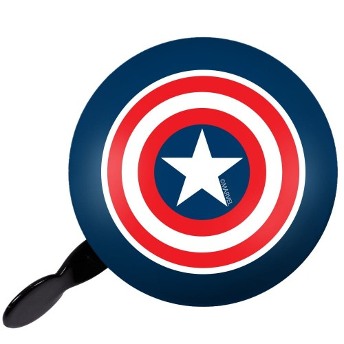 DZWONEK DO ROWERU RETRO CAPTAIN AMERICA